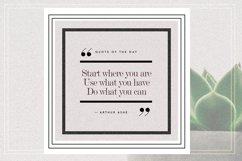GRUNGE Social Media Quote Banners Product Image 8