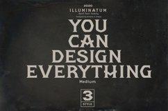 illuminatum - Serif font family Product Image 5