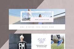 Canva - Marble Facebook Cover Pack Product Image 6