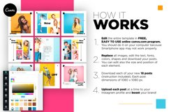 Colorful fashion Instagram 18 Posts Template | CANVA Product Image 5