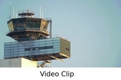 Video: Airport traffic control tower Product Image 1
