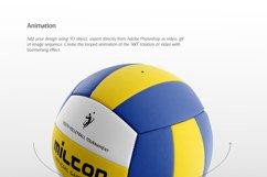 Volleyball Ball Animated Mockup Product Image 3