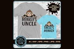 Monkey's Uncle & Uncle's Monkey SVG Cut Files Product Image 1