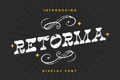 Retorma Font Product Image 1