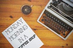 RAGDOLL Font Duo - Stamp Typewriter Font  Product Image 2