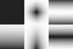 24 Square Patterns AI, EPS, JPG 5000x5000 Product Image 5