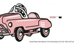 RETRO Pedal Car in 2 sizes Product Image 3