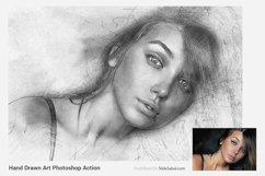 Hand Drawn Art Photoshop Action Product Image 2