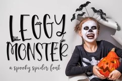 Leggy Monster - A Halloween Spider Font! Product Image 1