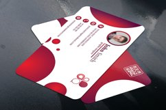Business Card with Circle touch Visiting Card Product Image 2