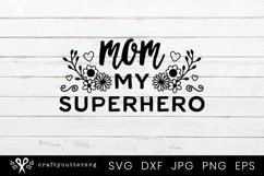 Mother's Day SVG Bundle | Mom Quotes Shirt Bundle Product Image 9