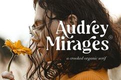 Audrey Mirages - Organic Serif Product Image 1