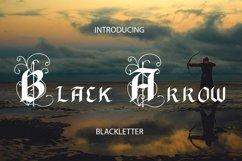 Black Arrow blackletter font Product Image 1