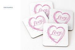 Heart Love SVG. Valentine SVG. love svg. Product Image 5