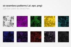 Flecktarn Camo Seamless Patterns Product Image 2