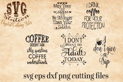 Coffee Svg Cutting Collection Product Image 1