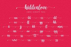 Hidden Love Script Chic font Product Image 6