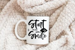 Start The Day With A Smile SVG Crafting File Product Image 2
