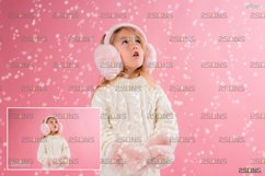 Winter overlays, Snow white clipart, Snow overlay Product Image 3