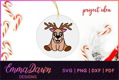 RUFUS THE REINDEER SVG CHRISTMAS MANDALA ZENTANGLE DESIGNS Product Image 6