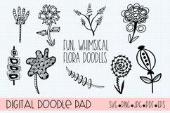 Floral Doodle Bundle Silhouette and Cricut Product Image 2