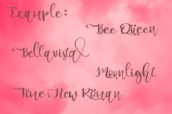 Bella Ciao Beauty Handwritten Script Font Product Image 5