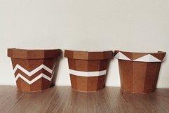 3d cactus, wall decor, papercraft cactus,cut model Product Image 2
