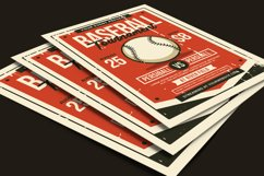 Baseball Tournament Flyer Product Image 3