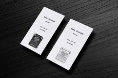 Business Cards with typewriters Product Image 11