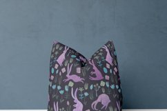Seamless watercolor pattern with easter bunnies Product Image 4
