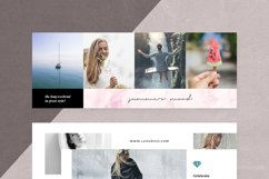 Canva - Marble Facebook Cover Pack Product Image 11
