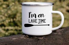 I'm on lake time paddle Product Image 2