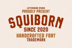 Squiborn - Logo Font Product Image 1