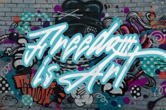 The Graffiti Font   Free Text Effect Product Image 6