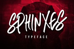 Sphinxes Typeface Product Image 1