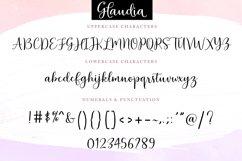 Glaudia Script Product Image 3