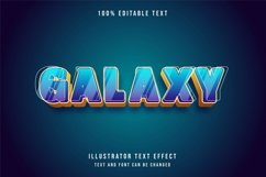 Galaxy - Text Effect Product Image 1