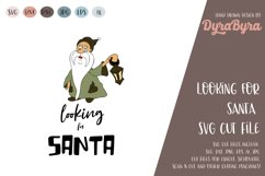 Looking for Santa SVG / Gnome SVG / Christmas Cut File Product Image 2