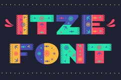 Itze Font Product Image 1