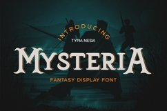 Mysteria - Fantasy Font Product Image 1