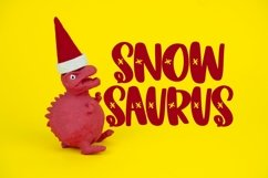 Web Font SNOWDAY - A Snowflake font Product Image 2