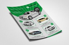Rent A Car Flyer Templates Product Image 3