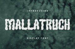 Web Font MALLATRUCH Font Product Image 1