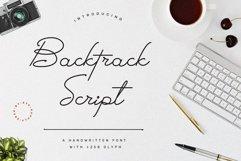Backtrack Script Bold Version Product Image 1