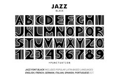 JAZZ - SVG Color Font Product Image 4