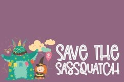 Sassquatch Ally - A Quirky Inline Type Product Image 3