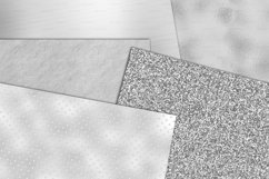 Silver Textures Digital Paper Product Image 2