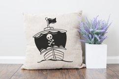 Ship SVG | Pirate SVG | Pirate Ship Product Image 2