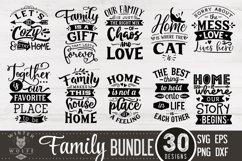 Family Bundle 30 designs SVG EPS DXF PNG Product Image 3
