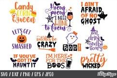 Halloween SVG Bundle, Sayings, Kids, Boys, Girls, Cut Files Product Image 2
